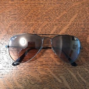 Ray-Ban Aviators size 55-14 (small)